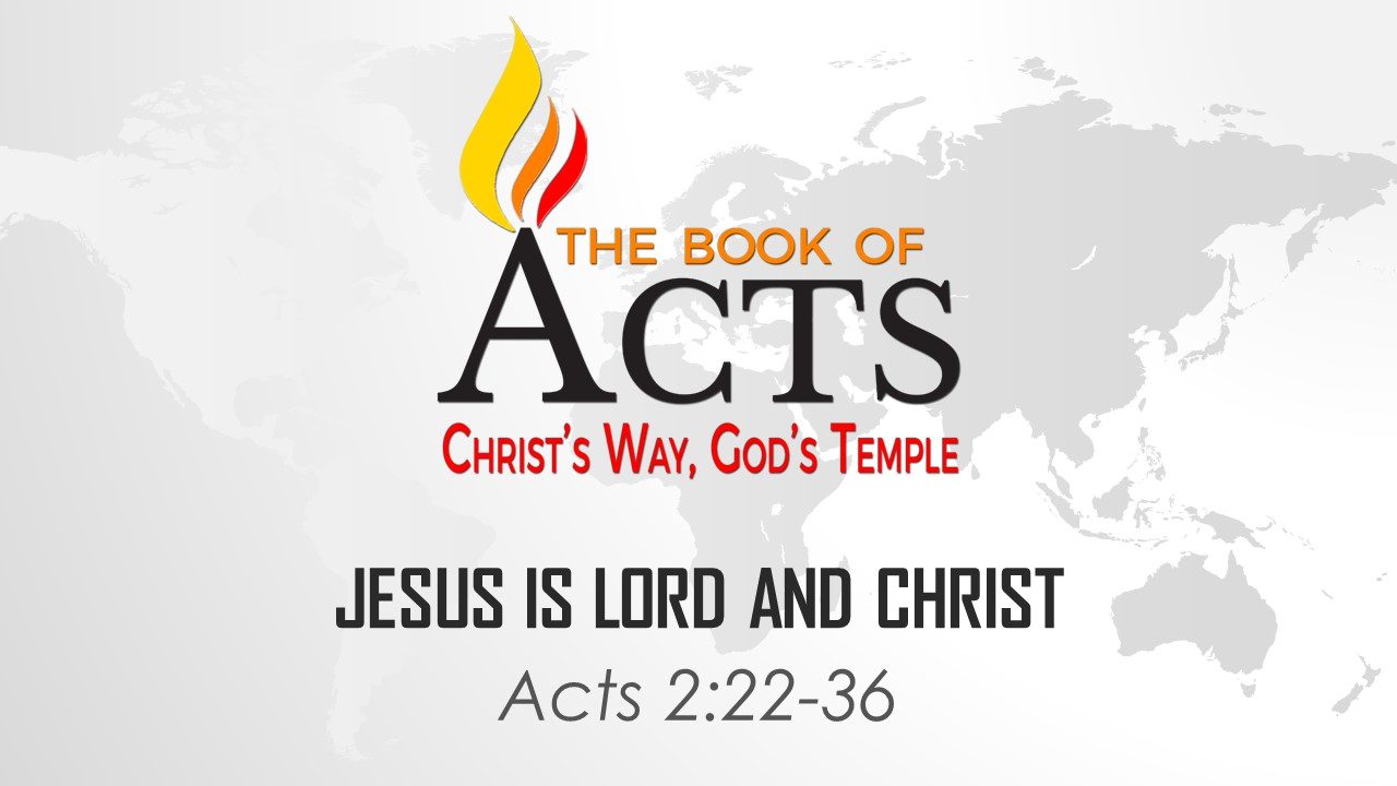 Jesus is Lord and Christ