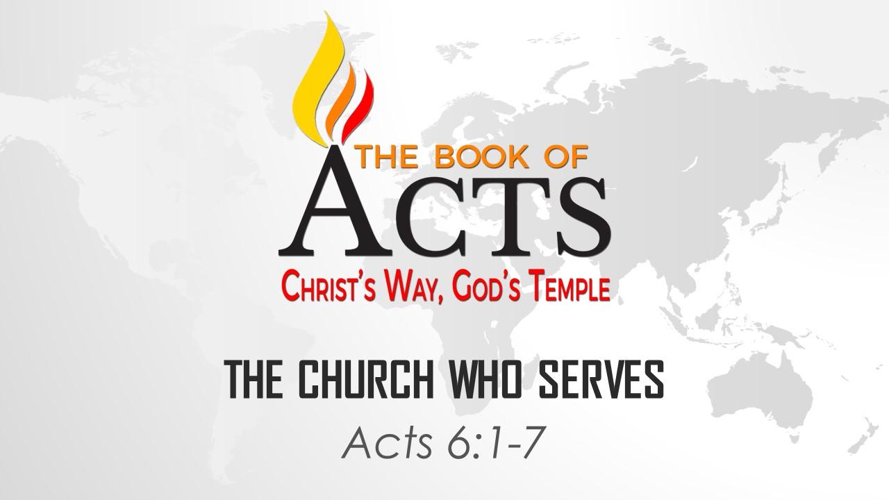 The Church Who Serves